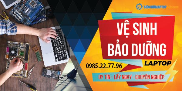 Dịch vụ bảo dưỡng laptop Bắc Ninh tại nhà