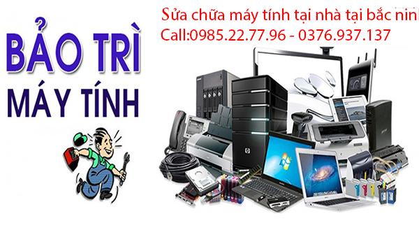 Dịch vụ sửa chữa máy tinh tại nhà Bắc Ninh